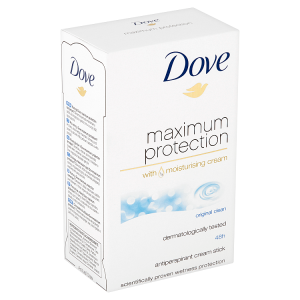 Dove Maximum Protection Original Clean antiperspirační krém 45ml