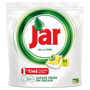 Jar Vše-v-1 Kapsle Do Automatické Myčky Nádobí Lemon 84 Ks