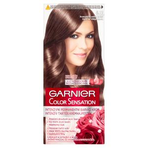 Garnier Color Sensation Intenzivní permanentní barvící krém diamantová světle hnědá 6.12