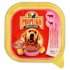 Propesko Kompletní krmivo pro dospělé psy s hovězím masem 300g