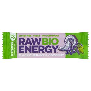 bombus Natural Energy Raw Bio Energy Black Currant & Coconut 50g