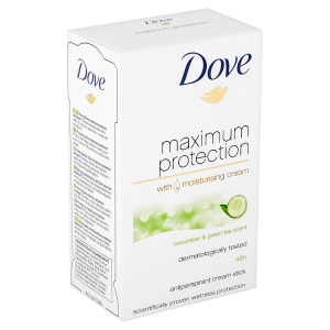 Dove Maximum Protection Cucumber & Green Tea antiperspirační krém 45ml