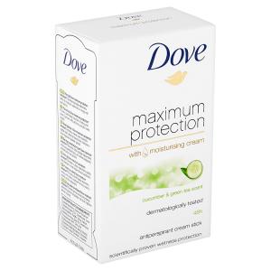 Dove Maximum Protection Cucumber & Green Tea antiperspirační krém 45ml
