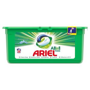 Ariel Allin1 Pods Mountain Spring Kapsle Na Praní, 28 Praní