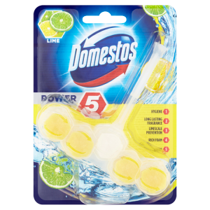 Domestos Power 5 Lime WC blok 55g