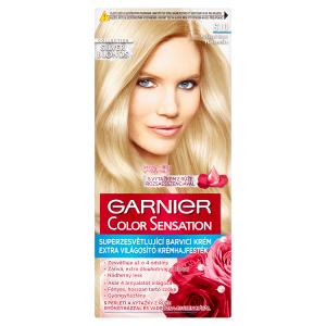 Garnier Color Sensation Superzesvětlující barvící krém platinová blond S10