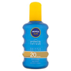 Nivea Sun Protect & Refresh Neviditelný sprej na opalování OF 20 200ml