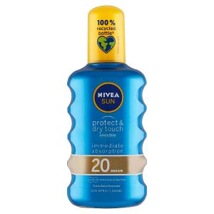 Nivea Sun Protect & Dry Touch Neviditelný sprej na opalování OF 20 200ml