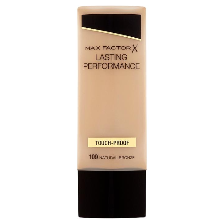 Max Factor Lasting Performance Dlouhotrvající make-up 109 natural bronze 35ml