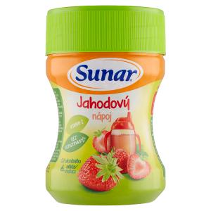 Sunar Jahodový nápoj 200g