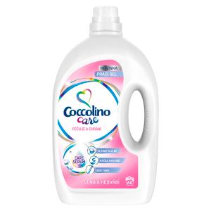 Coccolino Care Silk & Wool prací gel 60 dávek