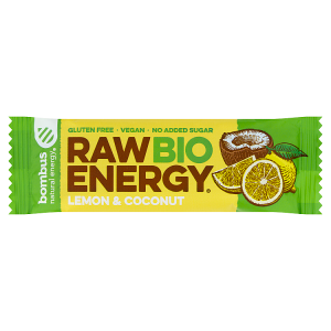 bombus Natural Energy Raw Bio Energy Lemon & Coconut 50g