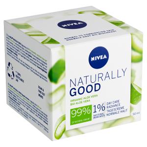 Nivea Naturally Good Rozjasňující denní krém 50ml