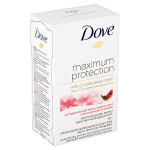 Dove Maximum Protection Pomegranate & Lemon Verbena antiperspirační krém 45ml