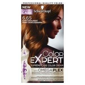 Schwarzkopf Color Expert barva na vlasy Zlatě Čokoládový 6.65