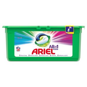 Ariel Allin1 Pods Color Kapsle Na Praní, 28 Praní