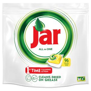 Jar Vše-v-1 Kapsle Do Automatické Myčky Nádobí Lemon 96 Ks