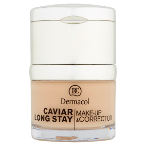 Dermacol Caviar Long Stay dlouhotrvající make-up 1 pale 30ml