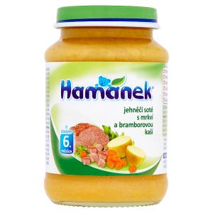 Hamánek Jehněčí soté s mrkví a bramborovou kaší 190g