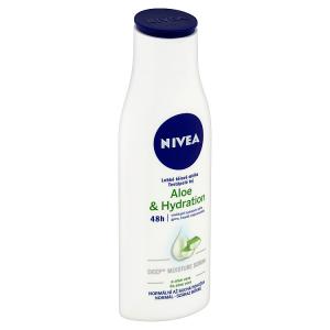 Nivea Aloe & Hydration Lehké tělové mléko 250ml