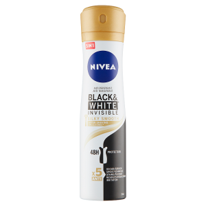 Nivea Black & White Invisible Silky Smooth Sprej antiperspirant 150ml