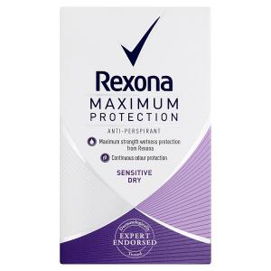 Rexona Maximum Protection Sensitive Dry antiperspirační krém 45ml