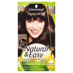 Natural & Easy Barva na vlasy ledový tmavě hnědý 583