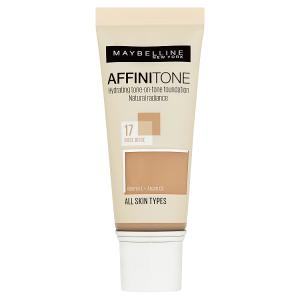 Maybelline New York Affinitone 17 Rose Beige hydratační make-up 30ml