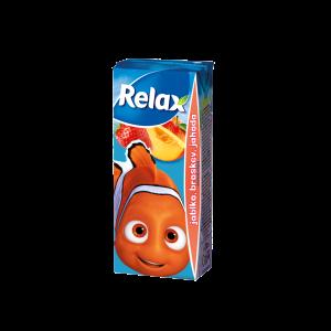 Relax jablko-BROSKEV-jahoda 0,2L TP