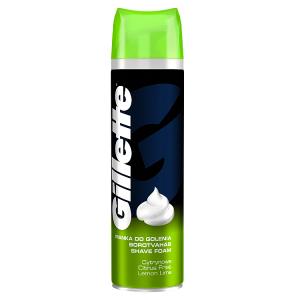 Gillette Classic Pánská Pěna Na Holení Lemon Lime 200ml