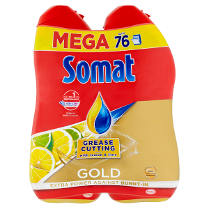Somat Gold Grease Cutting Lemon & Lime 2 x 684ml