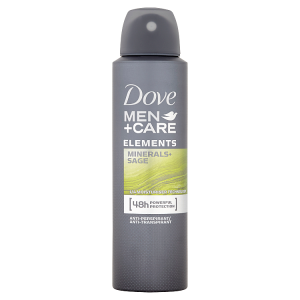 Dove Men+Care Elements antiperspirant sprej pro muže 150ml