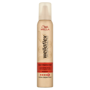 Wella Wellaflex Heat Protection Ultra Strong Hold pěnové tužidlo 200ml