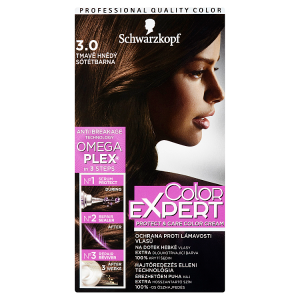 Schwarzkopf Color Expert barva na vlasy Tmavě Hnědý 3.0