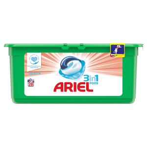 Ariel Sensitive Kapsle Na Praní Prádla 3v1 Šetrné 28Praní