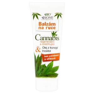 Bione Cosmetics Bio Cannabis regenerační a zvláčňující balzám na ruce 200ml