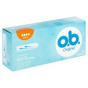 O.B. Original Super tampony 16 ks