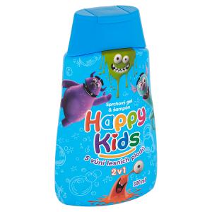 Happy Kids Sprchový gel a šampon s vůní lesních plodů 2v1 300ml