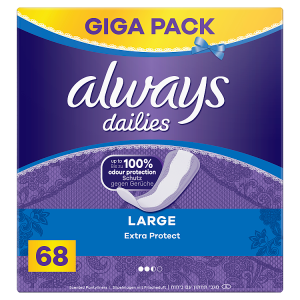 Always Dailies Large Extra Protect Intimky 68 ks