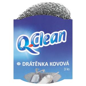 Q-Clean Drátěnka kovová 3 ks
