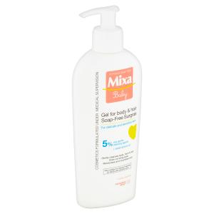 Mixa Baby Extra vyživující mycí gel na tělo a vlásky 250ml