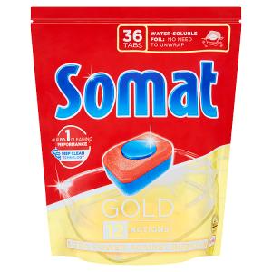 Somat Gold Tablety do myčky na nádobí 36 tablet 691,2g