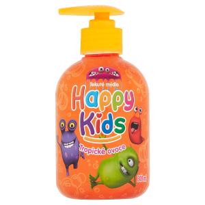 Happy Kids Tekuté mýdlo Tropické ovoce 300ml