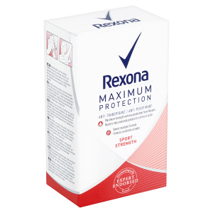 Rexona Maximum Protection Sport Strength antiperspirační krém 45ml