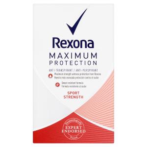 Rexona Maximum Protection Sport Strength antiperspirační krém 45ml