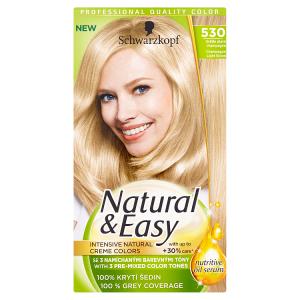 Natural & Easy Barva na vlasy světle plavá champagne 530