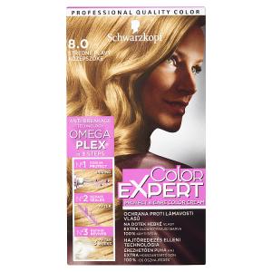 Schwarzkopf Color Expert barva na vlasy Středně Plavý 8.0
