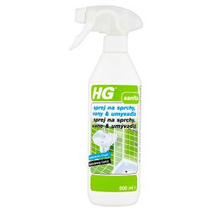 HG Sprej na sprchy, vany & umyvadla 500ml