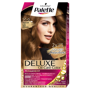 Schwarzkopf Palette Deluxe barva na vlasy Tmavě Zlatá Blond 556
