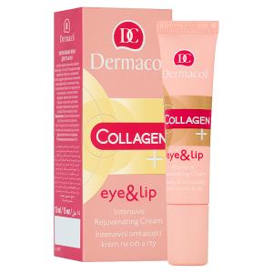 Dermacol Collagen+ Intenzivní omlazující krém na oči a rty 15ml
